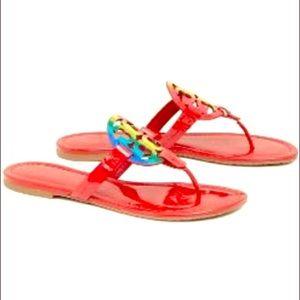 Tory Burch Miller Rainbow 🌈 Sandal! Size 10.5